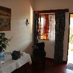Zimmer im Bungalow am Hang