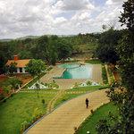 Pool side View of Pandit Resort