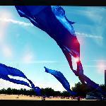 Drachen in Blau