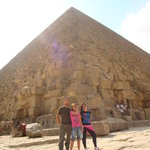 By the pyramids