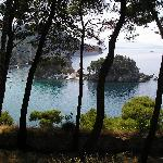 View from Parga castle