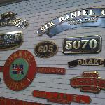Locomotive Name Plates
