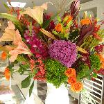 front counter flower display