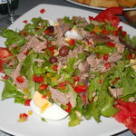 Salad Nicoise as main course
