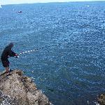Pêche à la pointe de Kerzo
