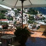 """terrace restaurant """"Mirage"""" with view"""