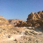 Vue vers l'oasis Ain khudra