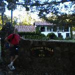 Leaving Spanish Villa