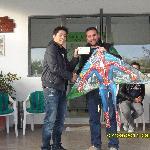 Green Monday Kite flying winner