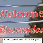 A Welcoming Sign for a Great Stay!