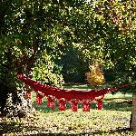 Le hamac situé dans le parc