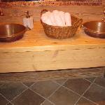 bagno della sala da pranzo