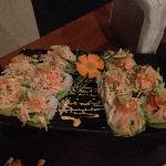 Vallarta Roll with Crab Salad & Lime!