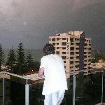 Thunderstorm from level 8 Balcony