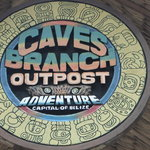Entrance sign to the Cave Tubing