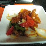 Typical Sweet and Sour Pork