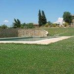 Vista Agriturismo zona piscina