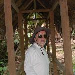 A punto de salir de marcha en la selva