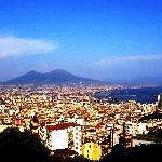 Il Vesuvio come sfondo di tutte le vedute