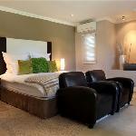 New luxury room in villa