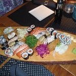 If you love sushi, East West Sushi is the place