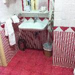 il bagno... carino ma la doccia?