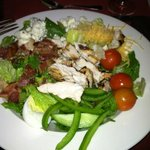 Cobb Salad with the changes I asked for