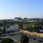 """View from 10th floor over """"Disney"""""""