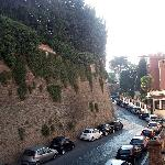 View from the window - Vatican Wall