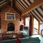 Estuary Barn (Sleeps 4) Living area