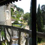 View from Restaurant Beau Sejours, Gorbio