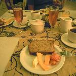bad picture of a good breakfast with vonkelwijn