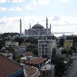 Hagia Sofia from Adamar roof terrace