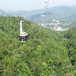 Aerial Tramway in Gatlinburg, TN