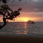 CocoLaPalm Sunset Negril Jamaica