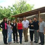 with staffs