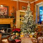 Happy Holidays in the sitting room
