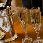 Enjot a Champagne toast with your love