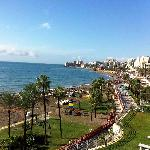 Beach and Promenade view from Hotel