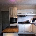 Clean, modern kitchen