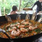 Restaurant open every day.  We specialise in Paellas and Rice Dishes.