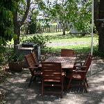 Our guests can enjoy our BBQ facilities