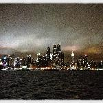 Nightly view from the ferry ride...
