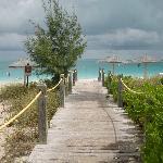 Entrance to Grace Bay Beach