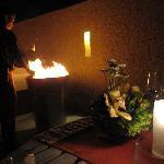 In-villa BBQ