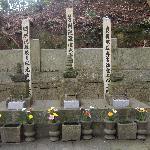 松平家初代親氏、二代泰親、四代親忠夫人の墓
