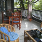 Verandah room where we ate most of our meals