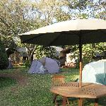 From dining to banda or tent