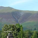 Typical View of Skiddaw from a Bedroom