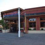 Exterior view of restaurant from board-walk